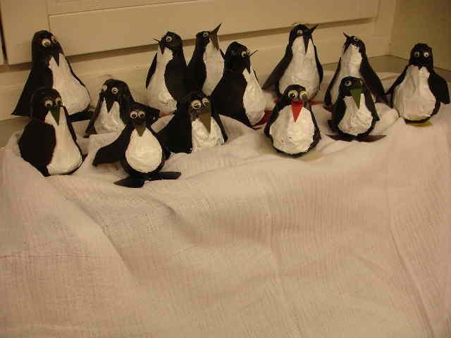 Rassel - Pinguine