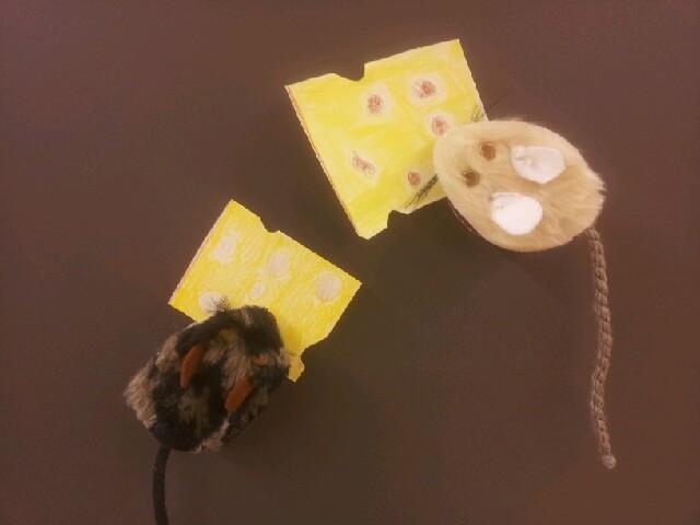 Wäscheklammer-Mäuschen