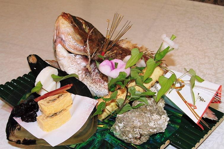 祝鯛 慶雲