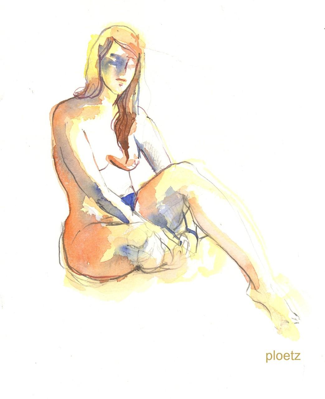 Sunny, 24 x 32 cm, watercolour on paper, 2014