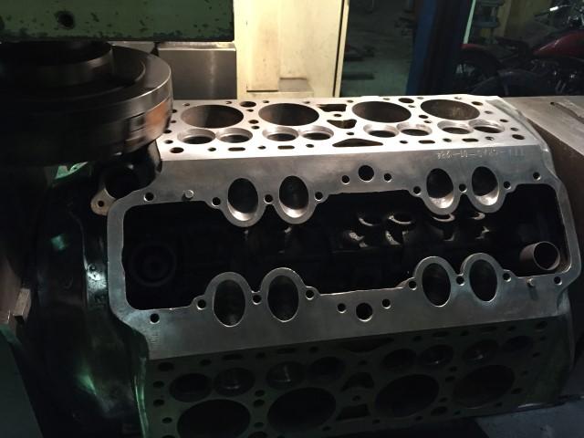 Motor einmal neu