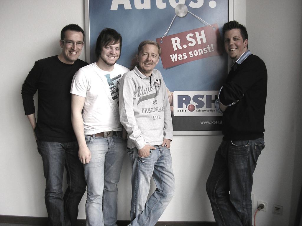 Martin Lindemann, Hemke Kay, Carsten Köthe, Peter Widereck