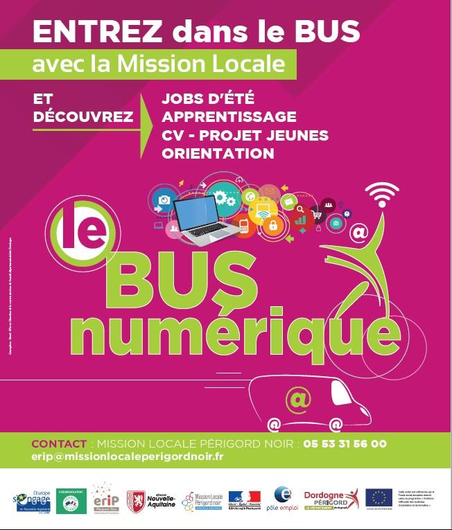 Bus Numérique - En tournée en Périgord Noir