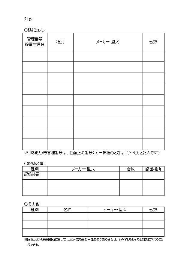 経堂北町会防犯カメラ設置運用規約p3
