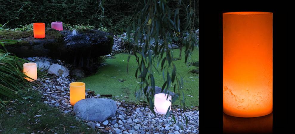 Tropenlicht - die ganz speziellen Wachslichter von Flamoso