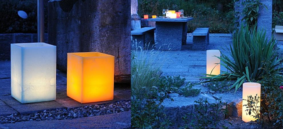 Tropenlicht, das einzigartige Wachslicht für Ihren Garten