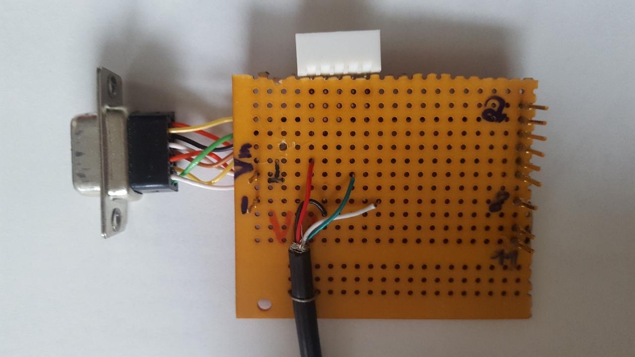 Home build Arduino shield