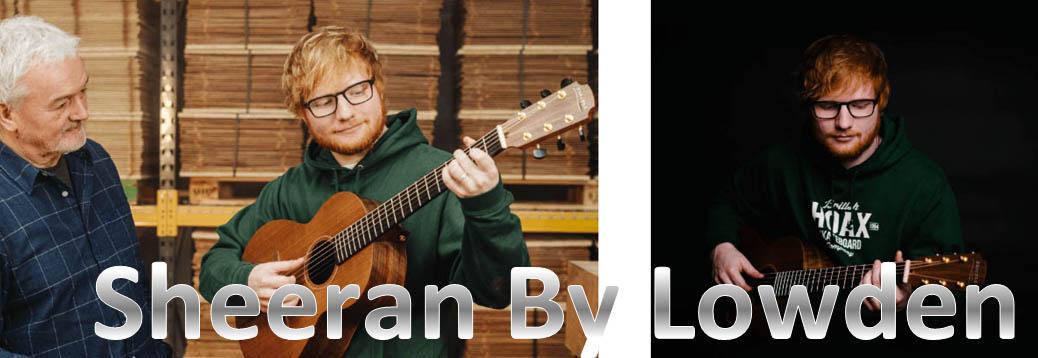 Sheeran by Lowden入荷!