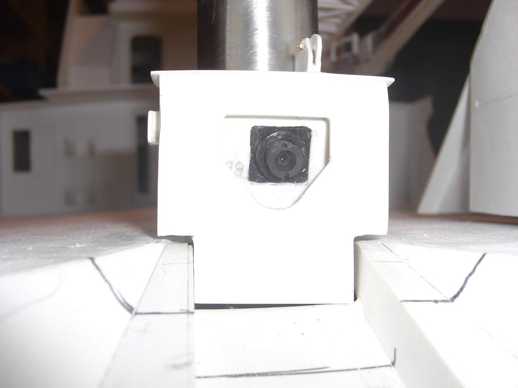 Tocherbootaufnahme mit Videokamera