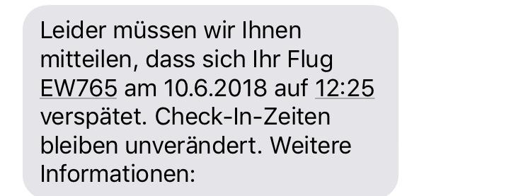 11:55 Uhr, Zürich Flughafen: Wie zu dem Zeitpunkt schon erwartet, noch eine weitere Verspätung