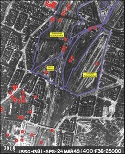Projektlage: Berlin-Köpenick, KWS-Leistung: Detailerkundung, Planung Tiefenentrümmerung / Baufeldverarbeitung / Planung Bodensanierung, Bauüberwachung, A + S - Koordinaten