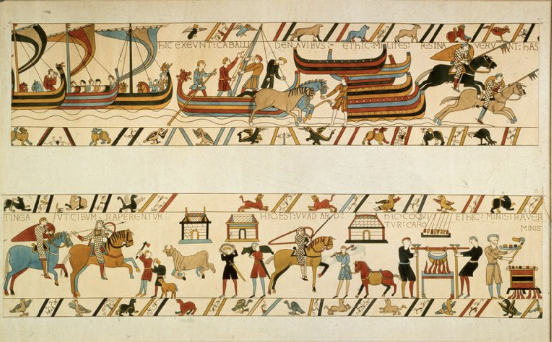 La Tapisserie de Bayeux, la presse en parle