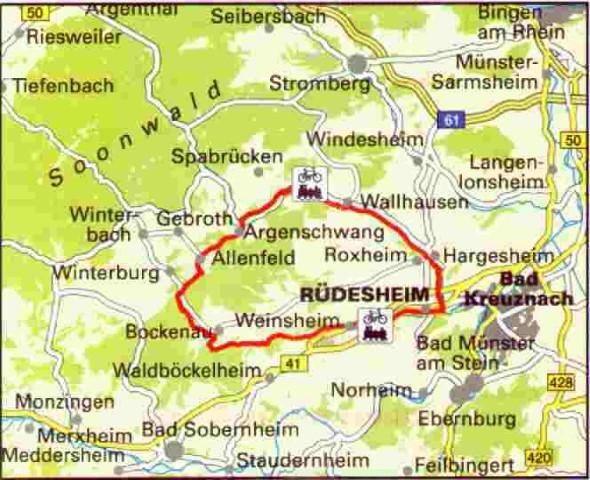 """""""Kleinbahn"""" cycling tour"""