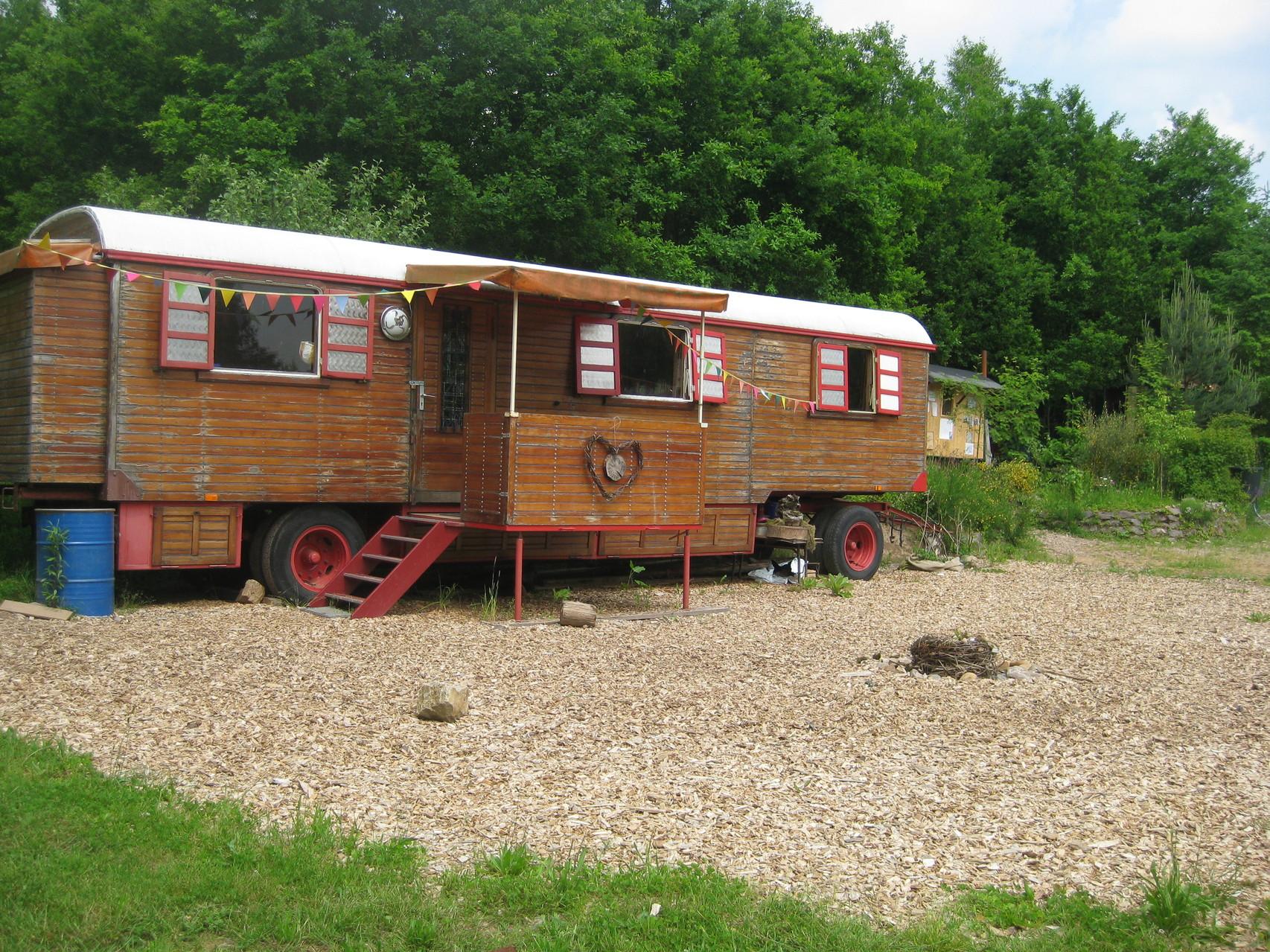 unser Zirkuswagen