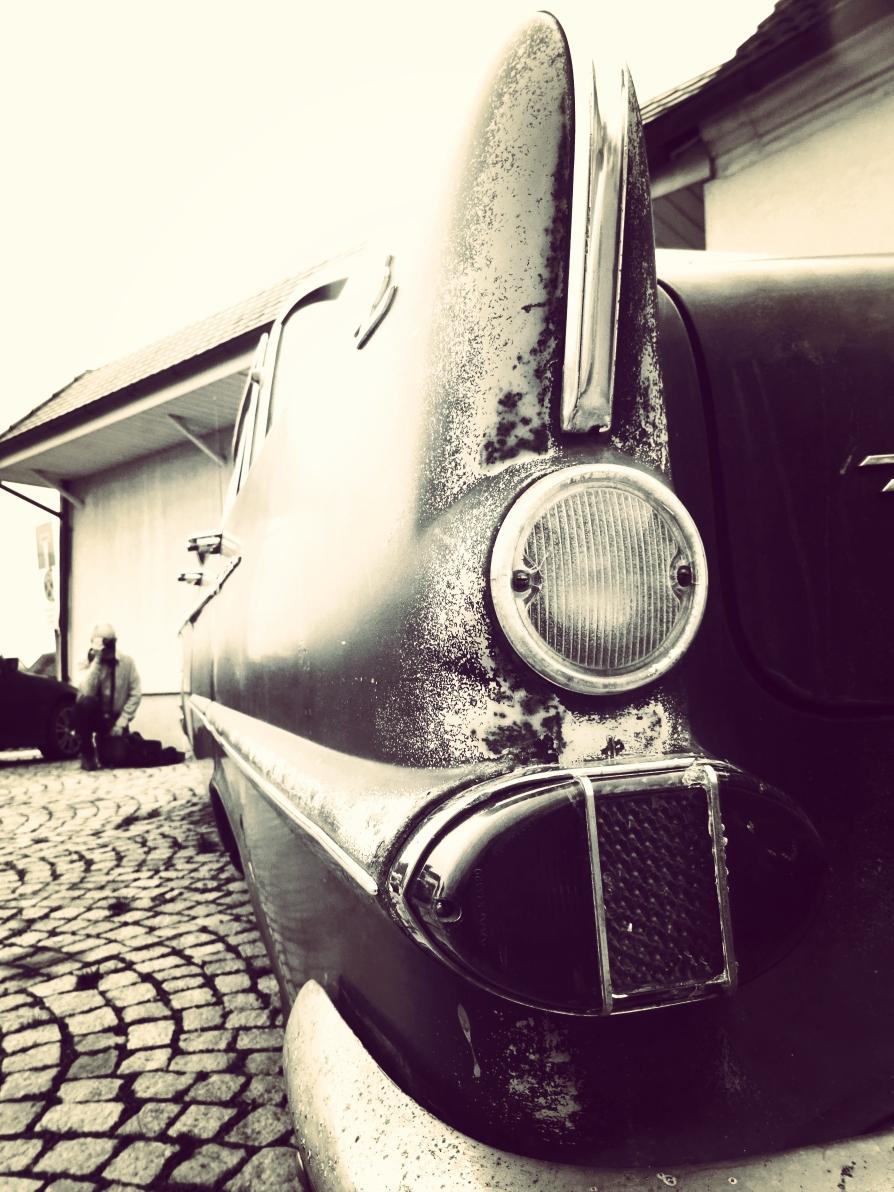 Oldtimer im oldschool Look