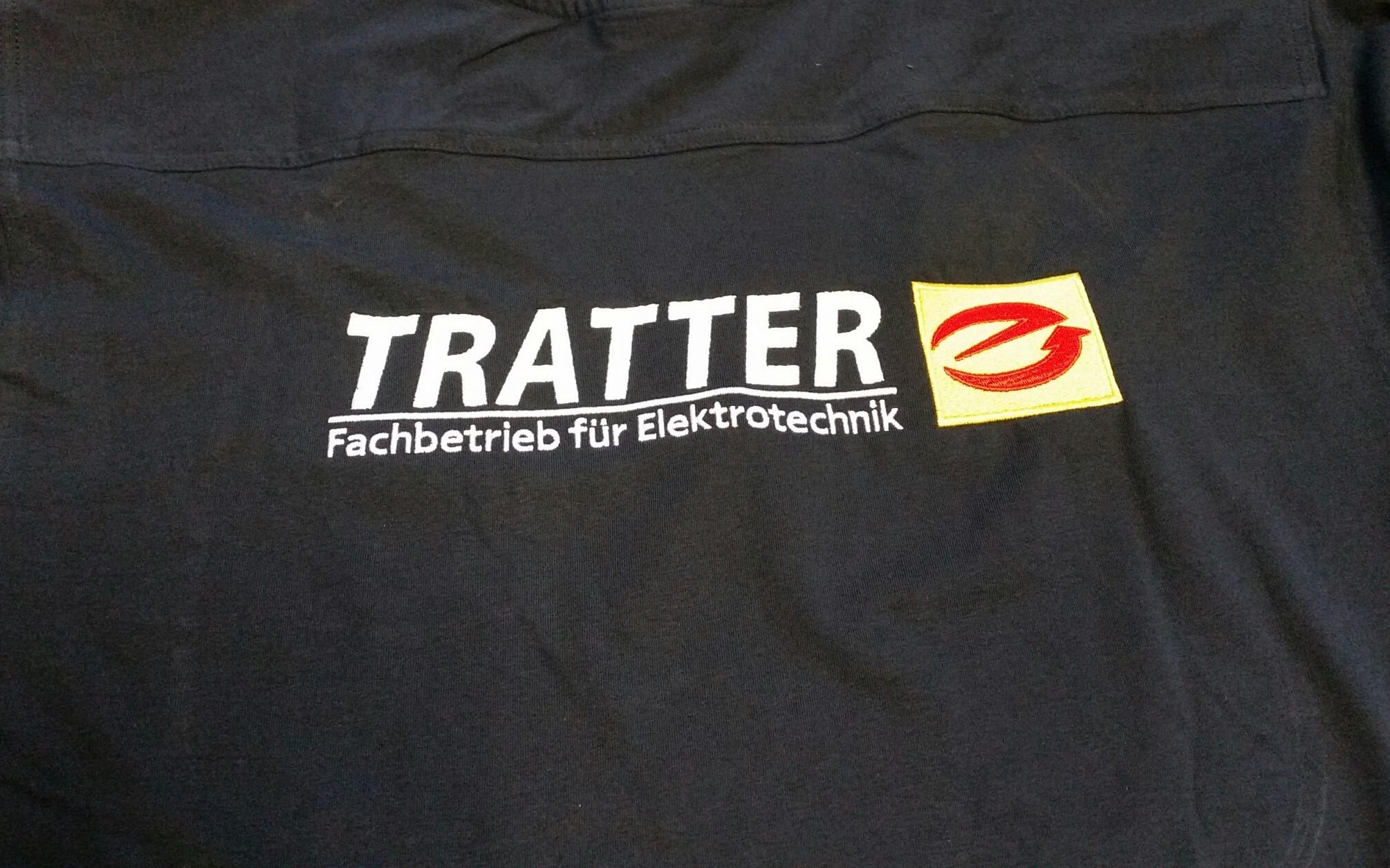 T-Shirt Rückenstick 3-farbig