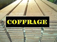 Planches COFFRAGE