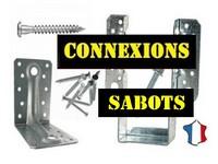 Connecteurs, Sabots & Pieds de Poteaux