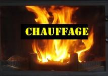 CHAUFFAGE Bûches & allume-feux