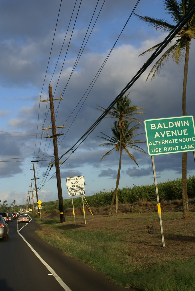 Drining from Kahului to Paia