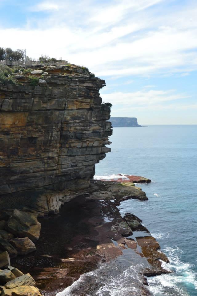 Watson Bay: Aussicht aufs Meer Richtung Norden