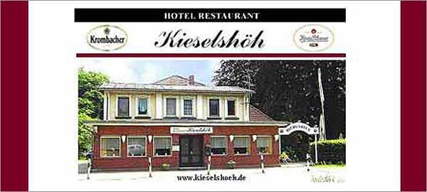 Hotel-Restaurant Kieselshöh in Stelle