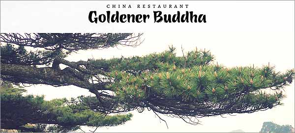 Goldener Buddha in Seevetal