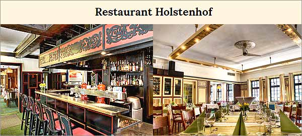 Restaurant Holstenhof in Hamburg