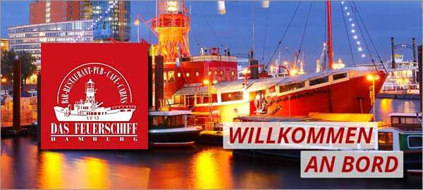 Das Feuerschiff in Hamburg
