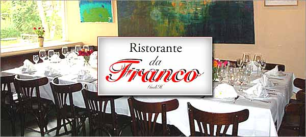 Ristorante da Franco in Hamburg-Eppendorf