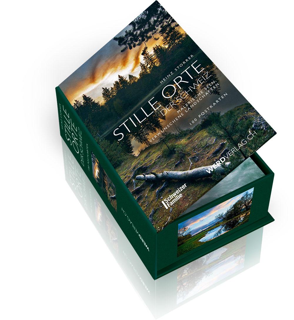 postkartenbox stille orte der schweiz werd verlag aktuelle b cher und bestseller zu den. Black Bedroom Furniture Sets. Home Design Ideas
