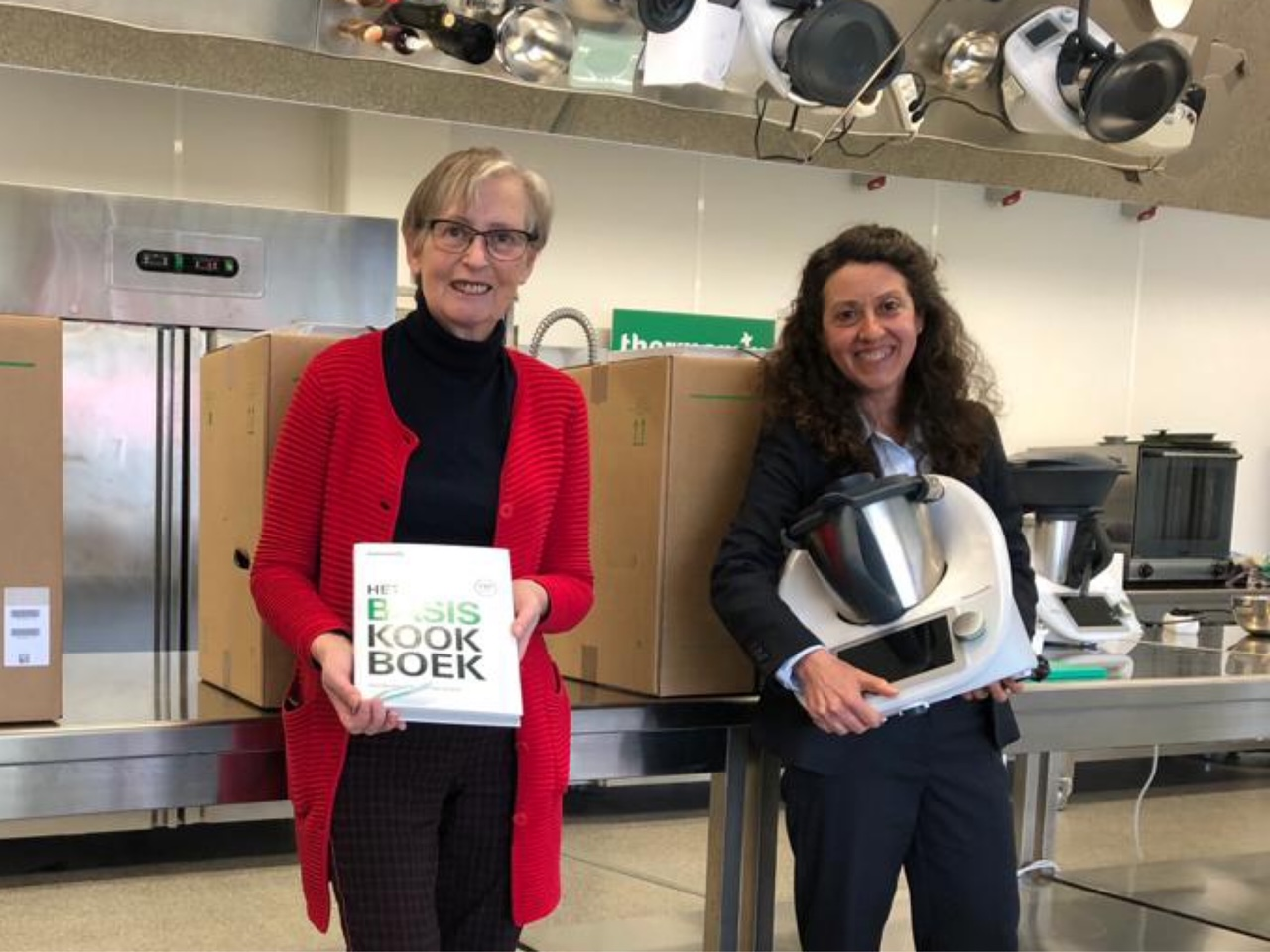 Begoña en Anne ontvingen speciale prijzen van Thermomix® Benelux