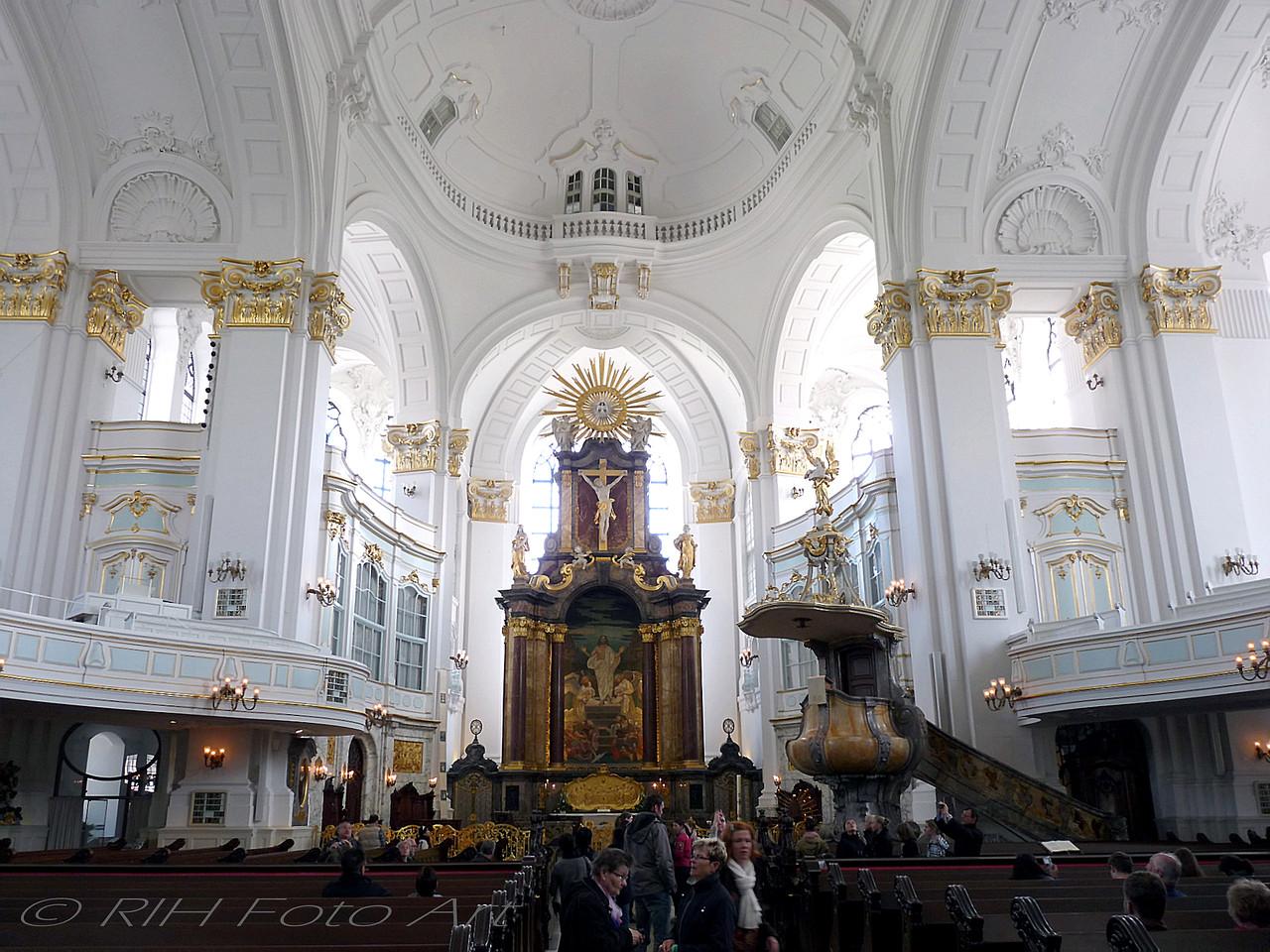 schlichte Schönheit  St. Michaelis  Hamburg