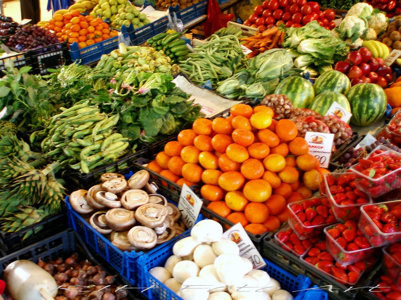 Marktangebot  Marocco