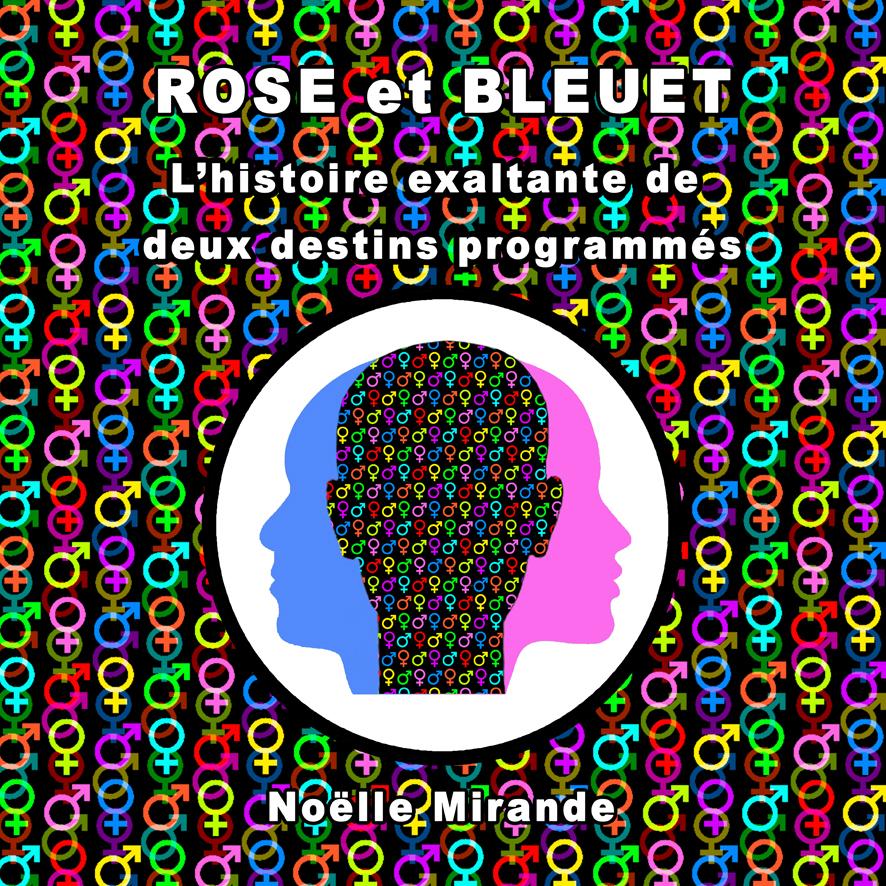 Couverture pour ROSE ET BLEUET - Chronique à sketchs commentés (peinture numétique) - Exposition Anti-Mythes d'EGALIT'ART