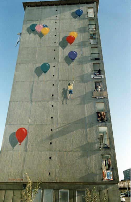 les ballons - Allonnes - 1988 - premier prix du concours