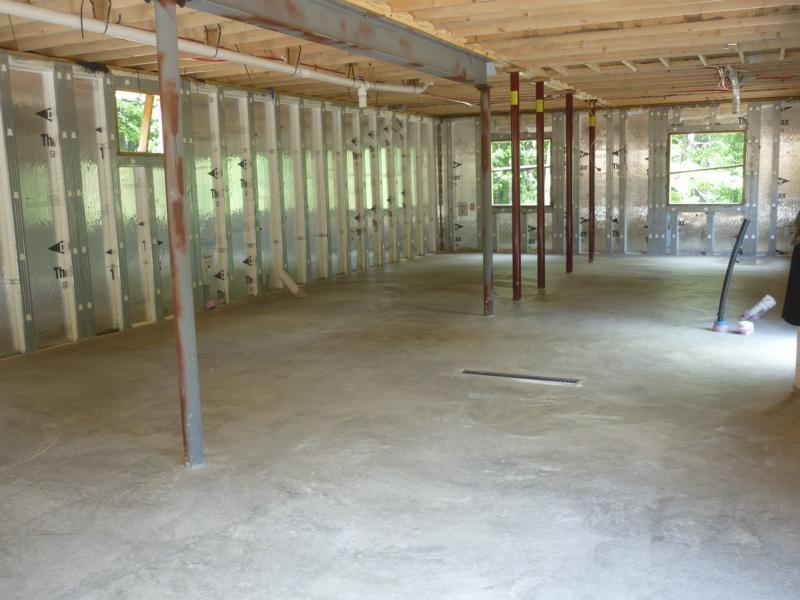preparations for concrete pour