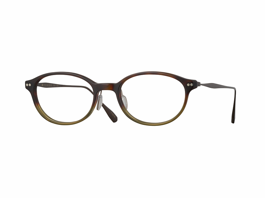 FIN-004 col.100-42 ダークデミーグリーンⅡ/ブラウンシャーリング 48□18-145 ¥32,000+tax