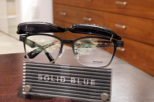 SOLID BLUE S-204 col.3 跳ね上げ複式サングラス 53□16-143 ¥32,000+tax