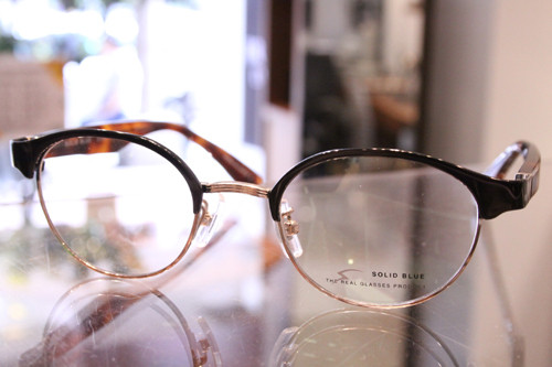 SOLID BLUE S-205 col.2(DarkBrown/DemiBrown) 48□21-143 ¥30,000+tax