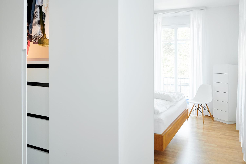 Schlafzimmer 5-Zimmerwohnung Zürich