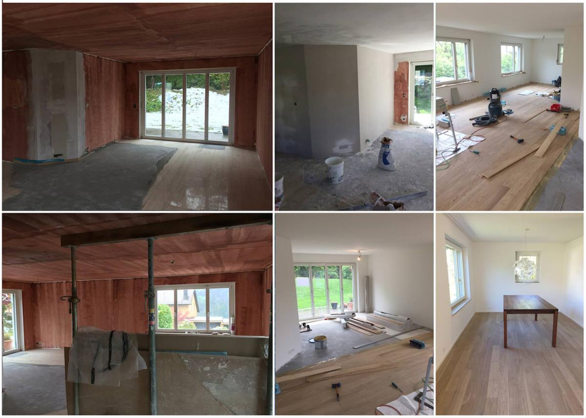 Umbau EFH Thalwil