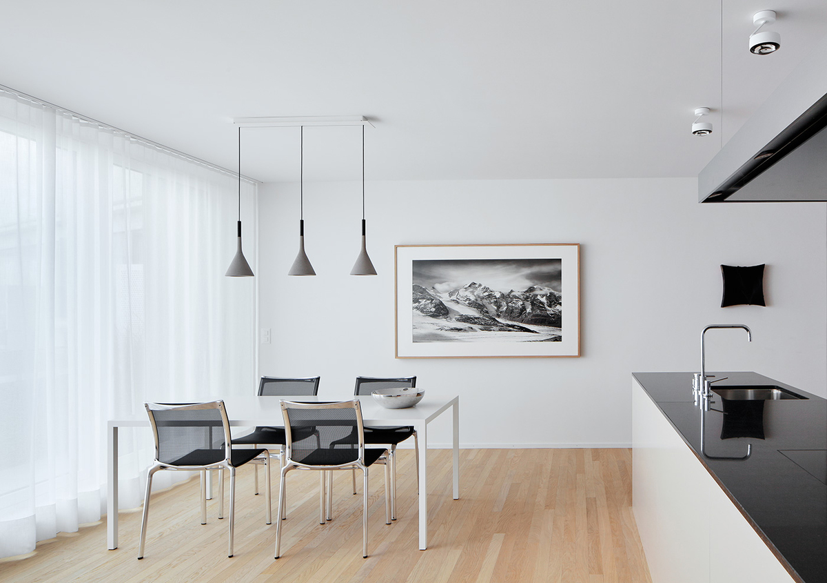 Penthouse Esszimmer