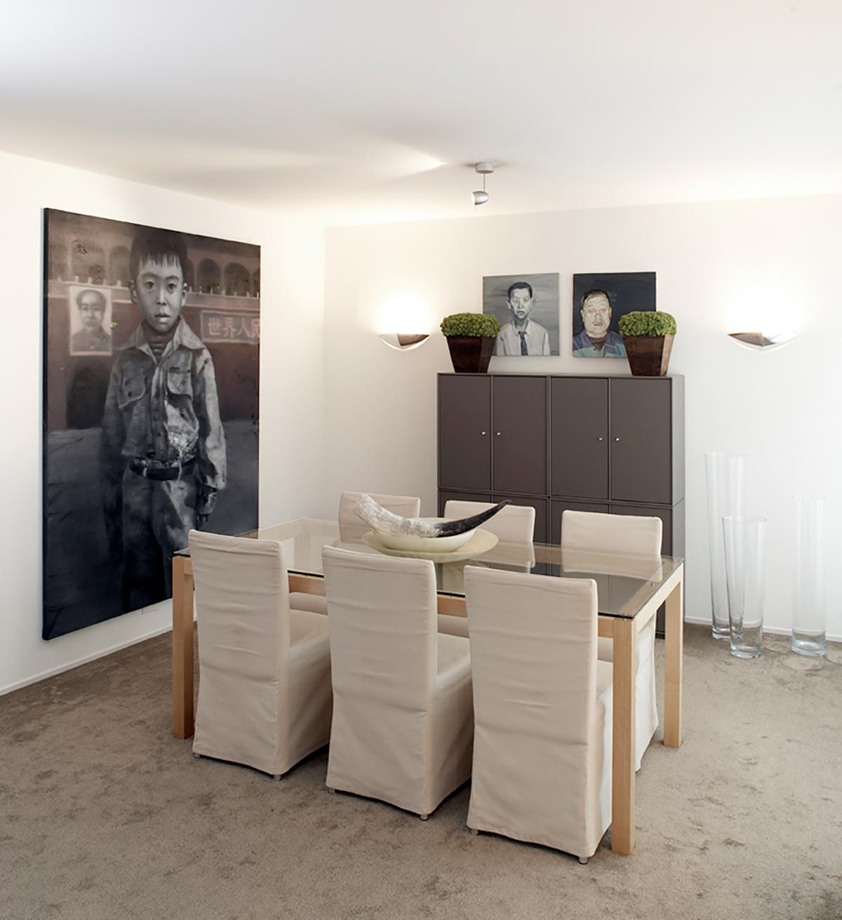 8-Zimmer-Villa Küsnacht Esszimmer