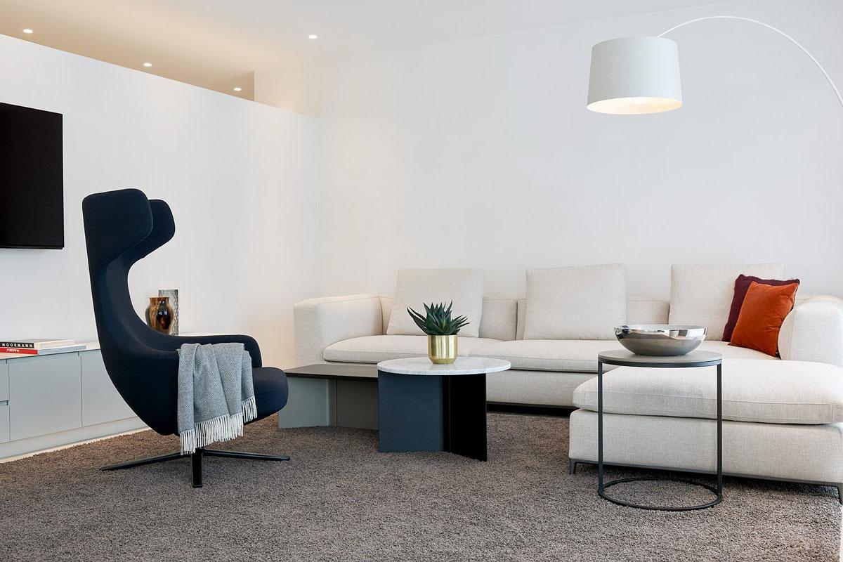 6-Zimmer-Wohnung Walenstadt, Living