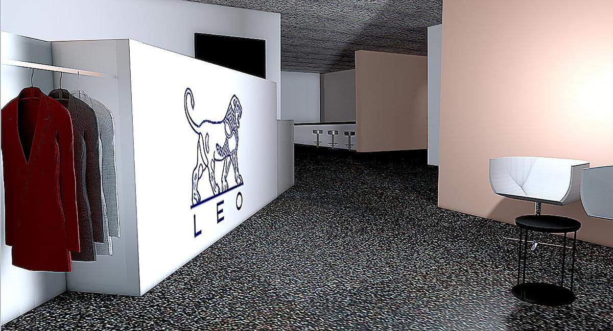 Umbau Leo Pharma Empfang