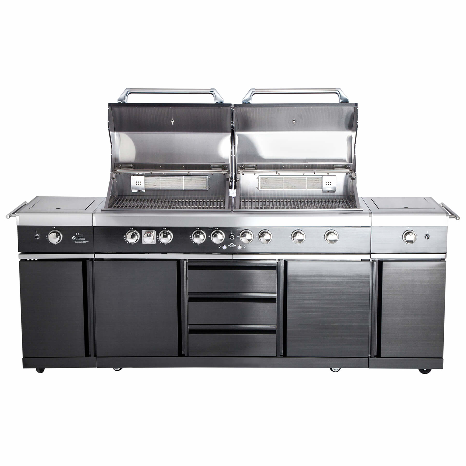 TOP-LINE - ALL'GRILL EXTREM - BLACK mit Air System
