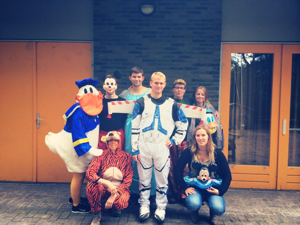 Staf kinderkamp 2014 - Themadag Disney