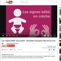 """Mai 2015 - les """"signes bébés"""" à la crèche mutualiste Pom d'Api"""