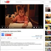 Juin 2013 - La langue des signes pour Bébé